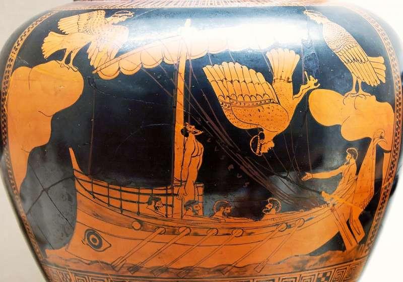 大英博物館展覽的「海妖花瓶」(Wikipedia/Public Domain)