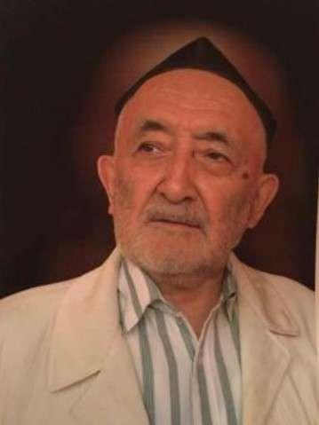 維吾爾伊斯蘭教長、學者穆罕默德.薩利.阿吉(Muhammad Salih Hajim)(取自維吾爾人權項目)