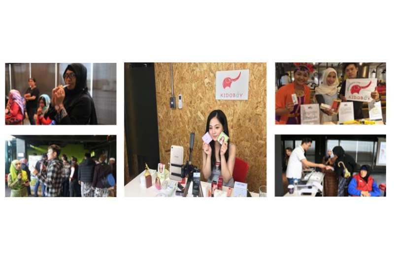 圖說:KIDOBUY市場前測方案、選品會、東協市集、越南網紅合作直播等活動照片