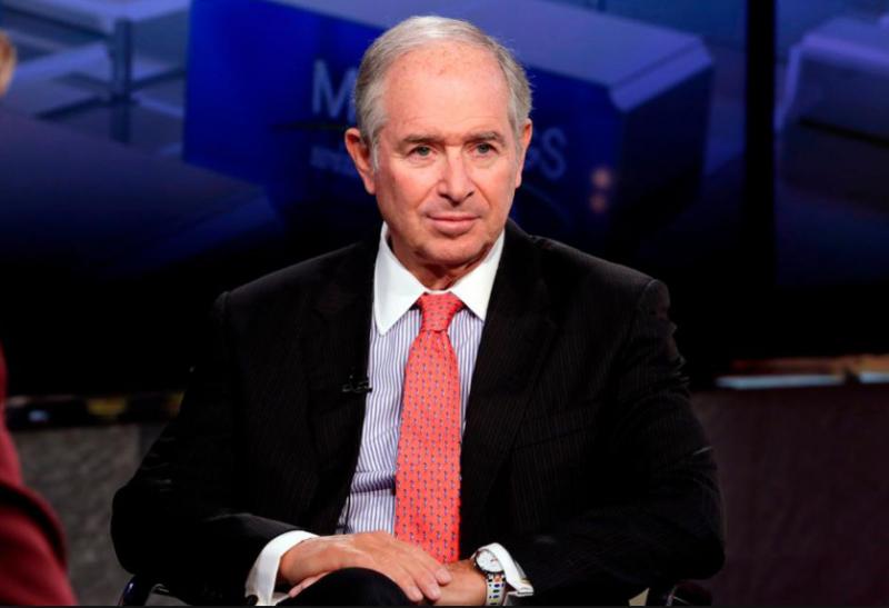 美國金融家、私募股權投資巨頭黑石集團執行長蘇世民(美聯社)
