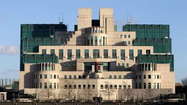 軍情六處MI6總部大樓。(圖/BBC中文網)