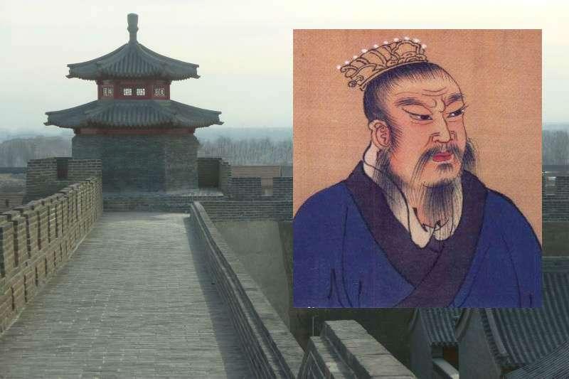 漢朝開國皇帝劉邦,做什麼都很奇葩。(圖/風傳媒合成)