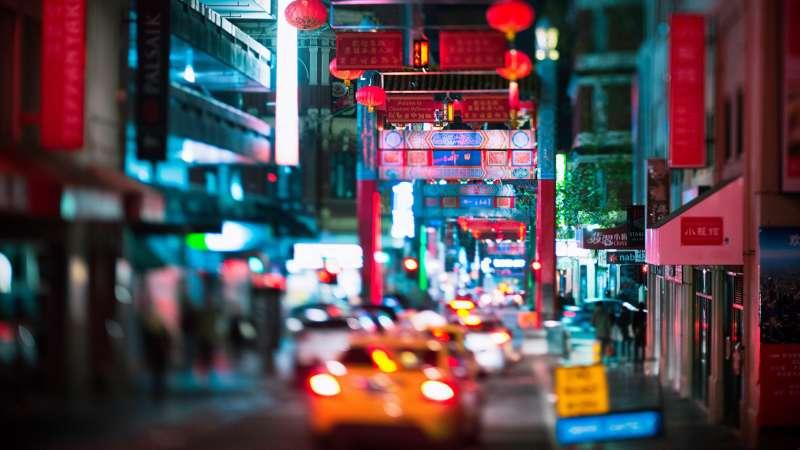 澳洲墨爾本的唐人街(取自Pixabay)