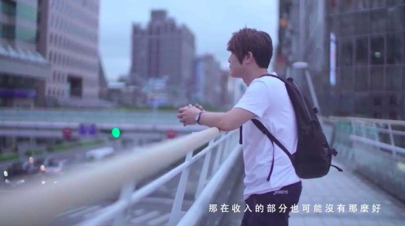 劉曉玫表示,洪士欽透過臉書主動與她聯絡,告訴她花蓮年輕人的心情。(圖/截取自劉曉玫競選CF)