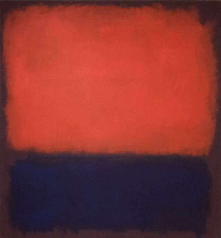 Mark Rothko作品《Number 14》。(圖/城市美學新態度提供)