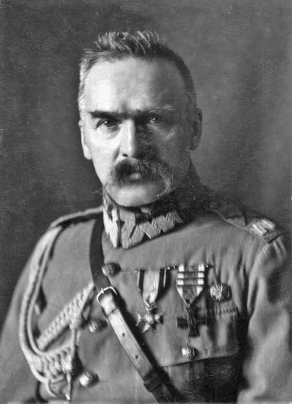 率領波蘭於1918年再度獨立的畢蘇斯基元帥(Józef Piłsudski)。(Wikipedia/ Public Domain)