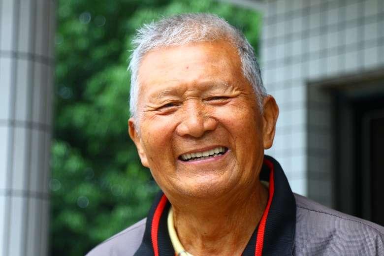 養鴨大王陳文連先生,堪稱台灣養鴨界的博士通。(圖/想想論壇,攝影/李公元)