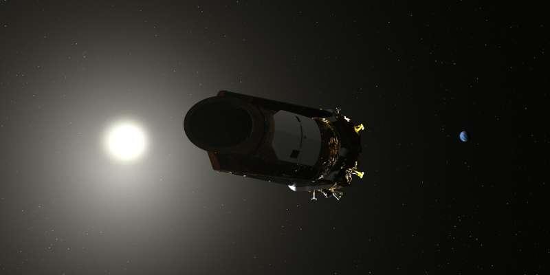 克卜勒太空望遠鏡退役。(取自NASA網站)