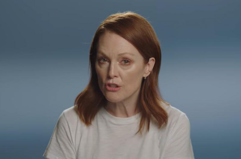 奧斯卡影后茱莉安.摩爾參與影片拍攝,呼籲美國女性在期中選舉出門投票(截自YouTube)