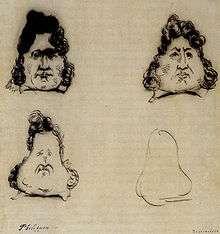 《喧鬧報》嘲諷菲利浦國王的漫畫。(作者提供)