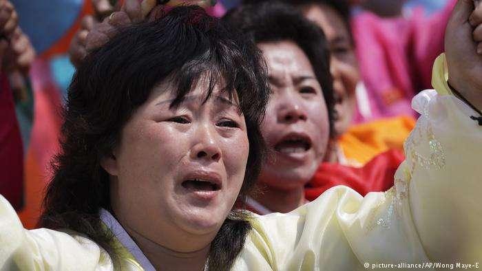 朝鮮女性受虐待問題嚴重。(圖/德國之聲)