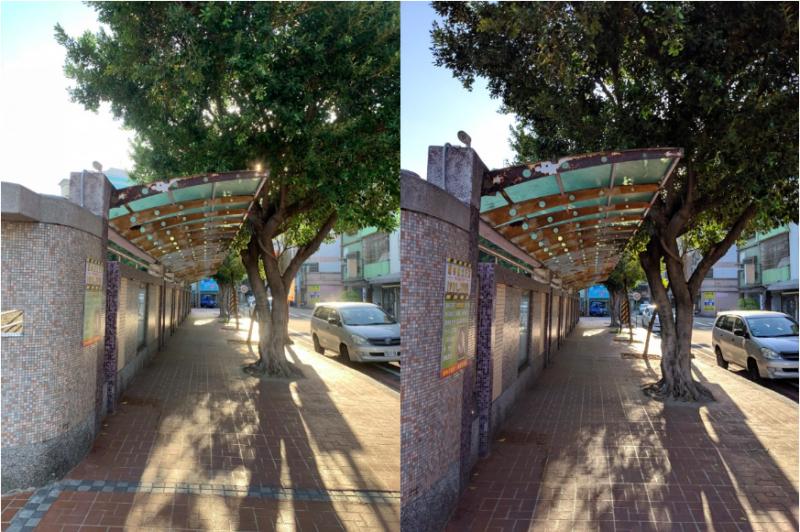左為iPhone XR,右為Google Pixel 3。(圖/數位時代提供)
