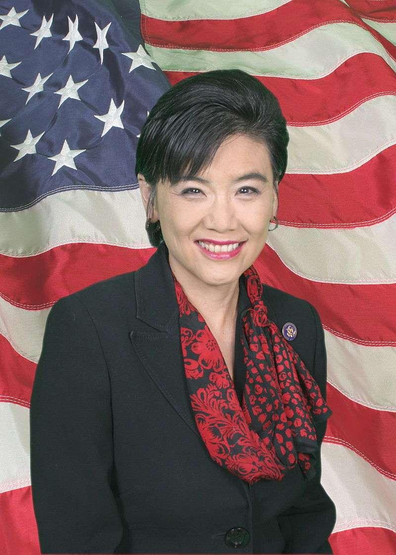 首位女性華裔美國聯邦眾議員趙美心(Judy Chu)。(Wikipedia/ Public Domain)