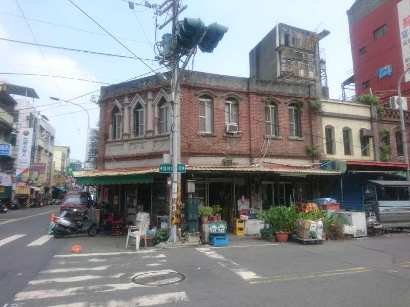 二林廟口廣場街景(圖/想想論壇)