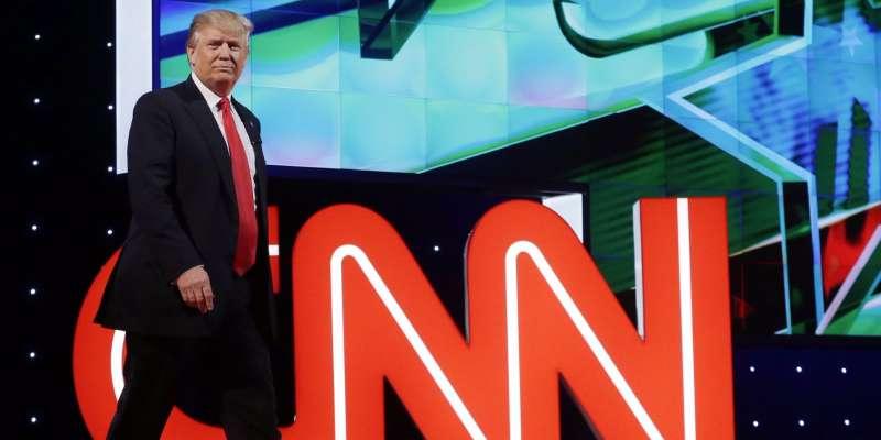 2016年的美國總統大選,共和黨候選人川普當選讓許多人跌破眼鏡,美國主流媒體紛紛表示,他們不預設今年期中選舉的結果(美聯社)