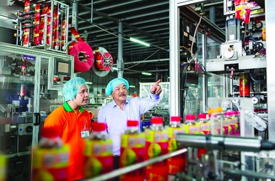 越南知名飲料集團Tân Hiệp Phát。(取自THP Groupe官網)