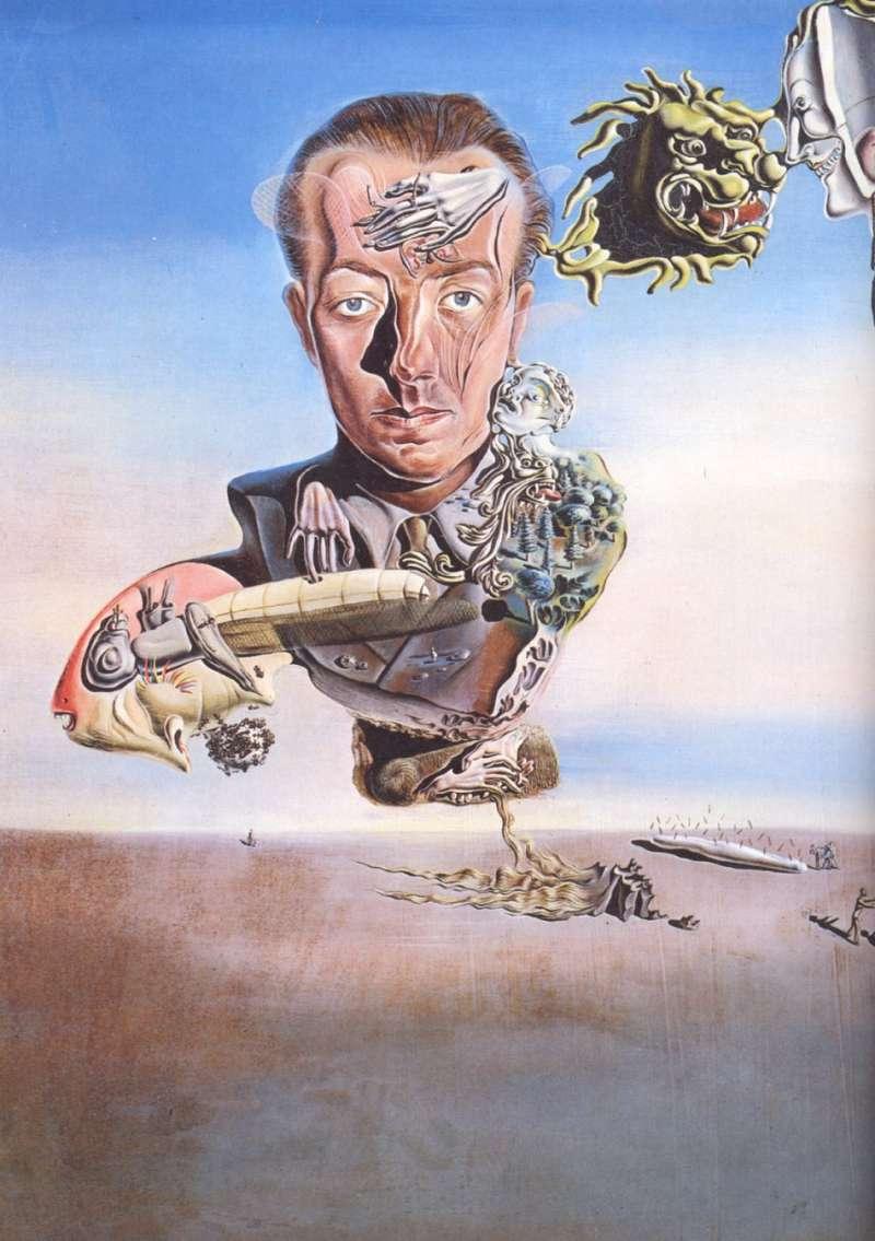 Portrait De Paul Eluard(圖/城市美學新態度)