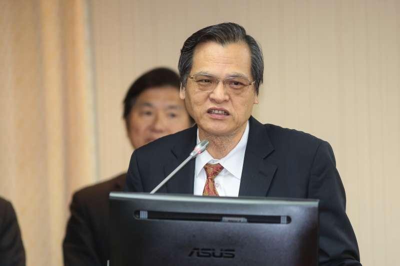 20181107-陸委會主委陳明通7日於內政委員會備詢。(顏麟宇攝)