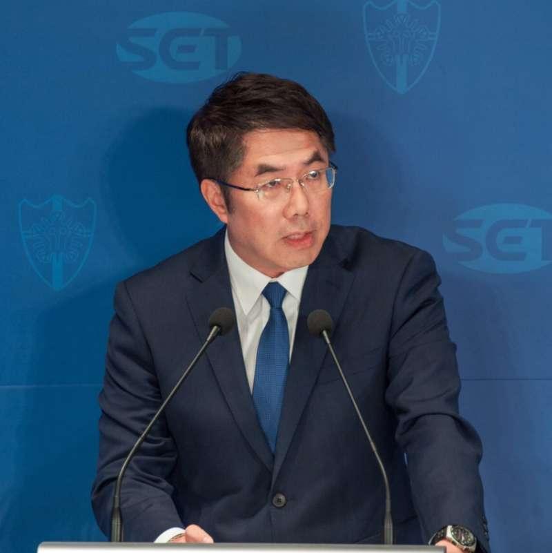 20181109-民進黨台南市長候選人黃偉哲。(圖/黃偉哲辦公室提供)