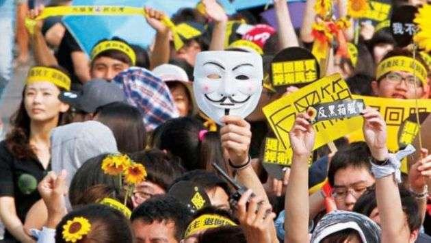 20181109-青年參與的社會運動重組台灣政治生態,加速政黨輪替改朝換代,也徹底改變了台灣的未來。(圖/商業週刊)