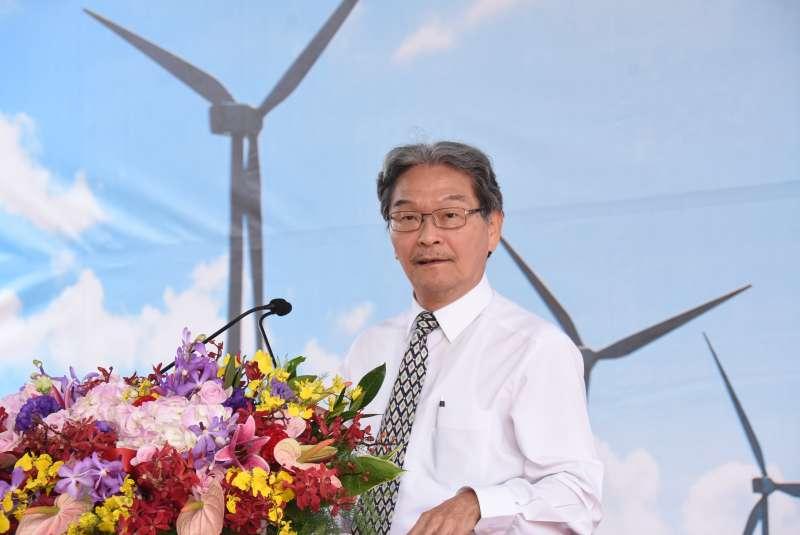20181109-風電供應媒合平台招商大會-cip代表致詞。(圖/彰化縣政府提供)