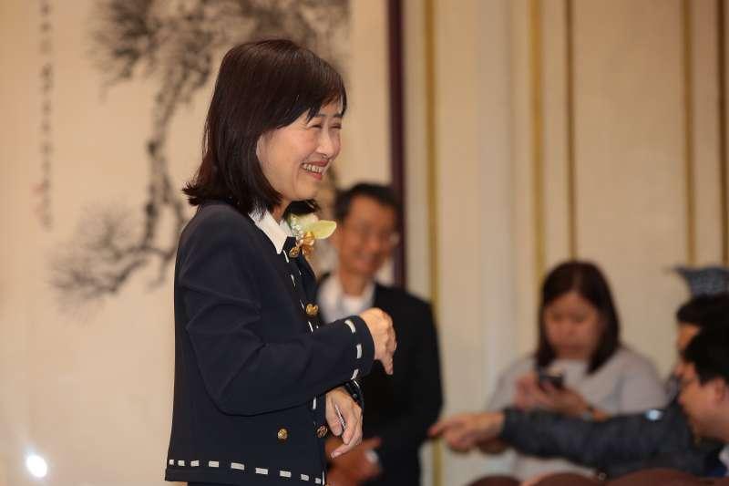 20181109-新科立委林奕華9日於立院宣誓就職。(顏麟宇攝)
