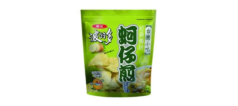 以台灣零食為例,近期也推出夾鏈袋大包裝。(食力foodNEXT)