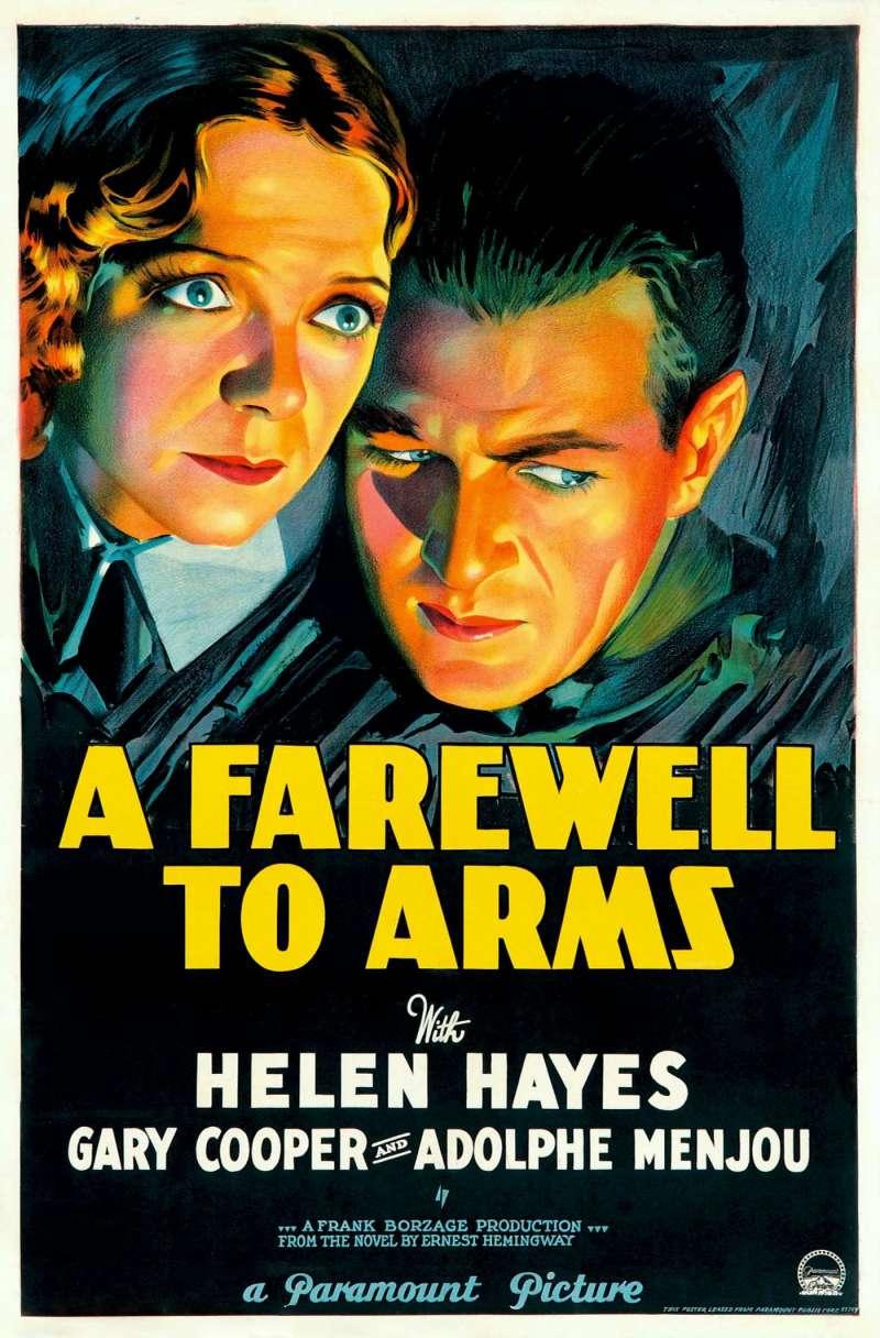 1932年版的《戰地春夢》 (A Farewell to Arms)電影海報(Wikipedia / Public Domain)