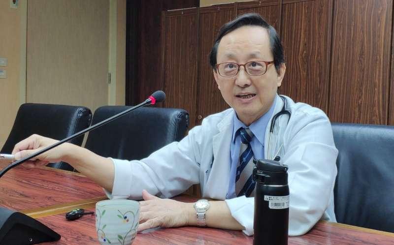 馬偕紀念醫院副院長李宏昌醫師經過實驗發現,體內維生素D足量,與改善腸道菌欉,將有助於減緩腸漏症狀況。(攝影 / 陳鈞煥)
