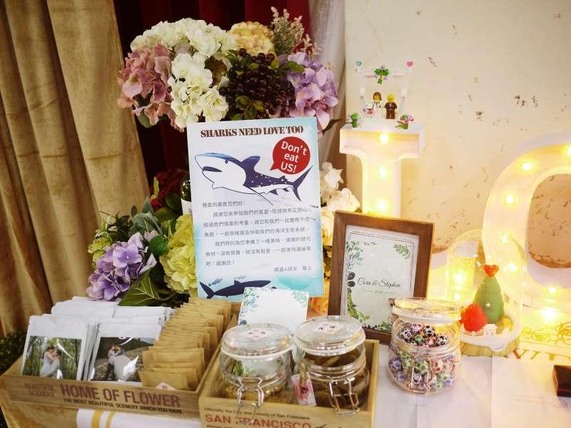 拒吃魚翅布置桌(圖/秀點子工作室攝影|綠學院提供))