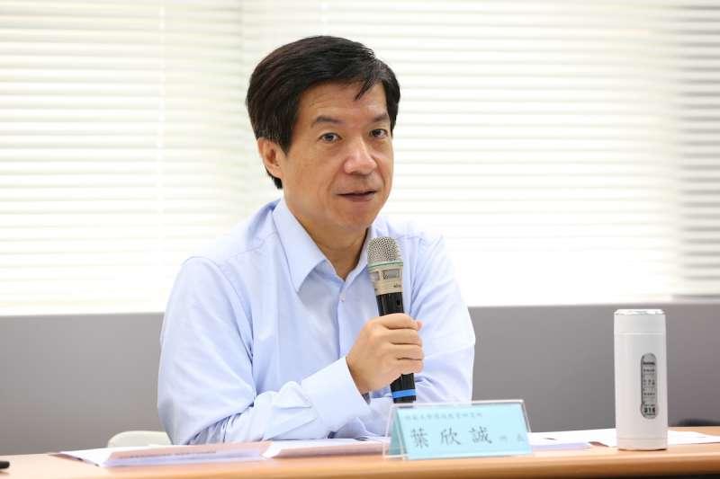 師大環境教育研究所長葉欣誠。(圖/風傳媒攝)
