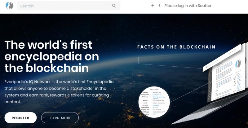 用區塊鏈技術為新維基百科Everipedia融資,就是在促進創造全球公共品的跨國合作。(作者提供)