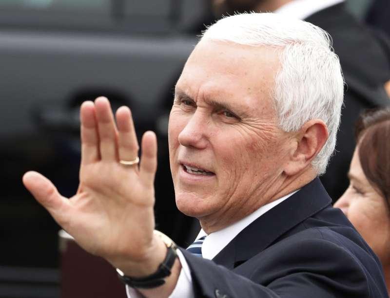 2018年11月,美國副總統彭斯巡行亞洲(AP)