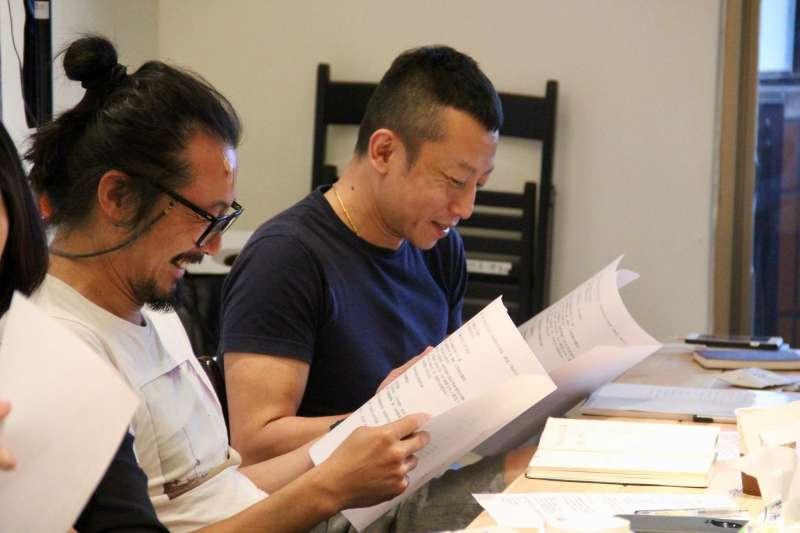 為認識VR電影敘事手法,楊雅喆與製片團隊共同參與VR電影培訓課程。(圖/文化+)