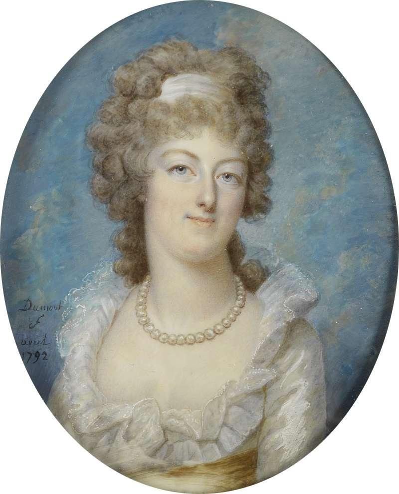 法國國王路易十六的王后瑪麗.安東妮(Marie Antoinette)(Wikipedia / Public Domain)