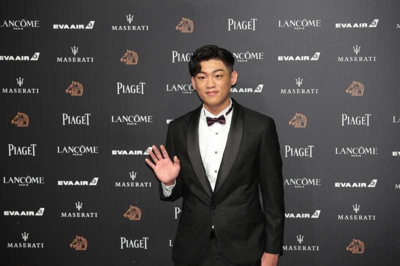 入圍最佳新演員的謝章穎,這是他第一次參與金馬盛會。(圖/攝影甘岱民)