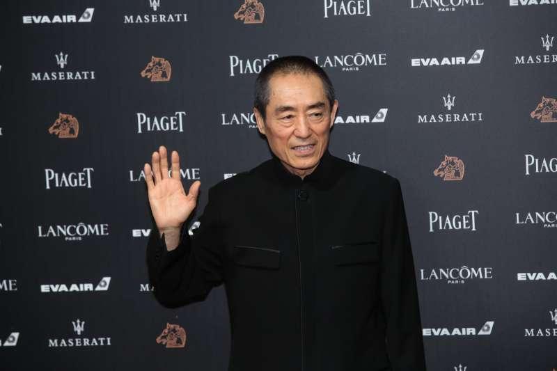 20181117-第55屆金馬獎,《影》導演張藝謀。(顏麟宇攝)