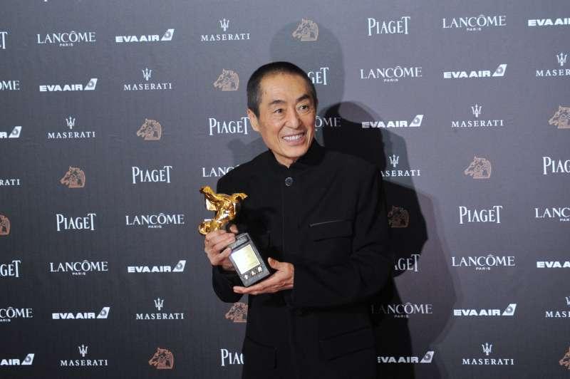 20181117-第55屆金馬獎,《影》最佳導演張藝謀。(甘岱民攝)