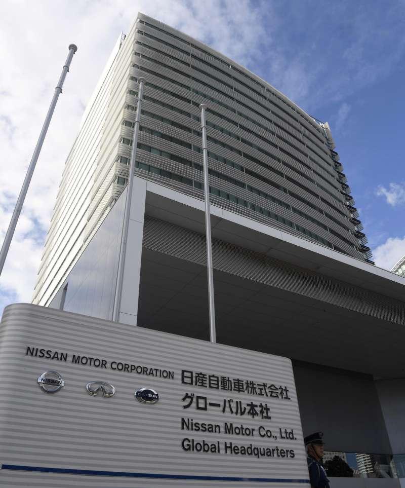 日本日產公司曾一度瀕臨倒閉(美聯社)