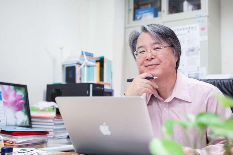20181121_台科大電機系特聘教授陳在相。(陳在相提供)