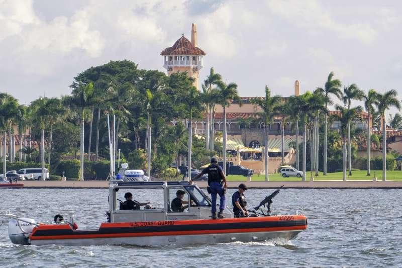 美國總統川普位於佛羅里達州的豪華渡假區「海湖莊園」(Mar-a-Lago)(AP)