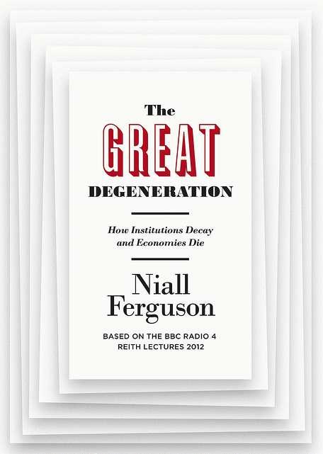 《西方文明的4個黑盒子》(The Great Degeneration:How Institutions Decay and Economies Die)。(取自The Sky of Gene)