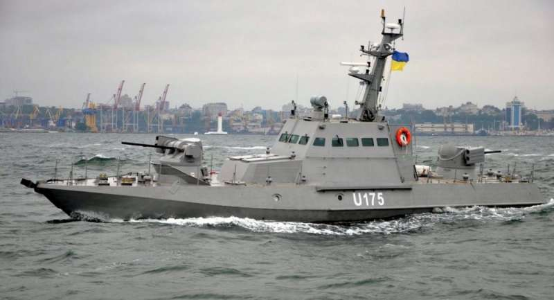 烏克蘭砲艇。(CC BY-SA 2.0 / 烏克蘭國防部)