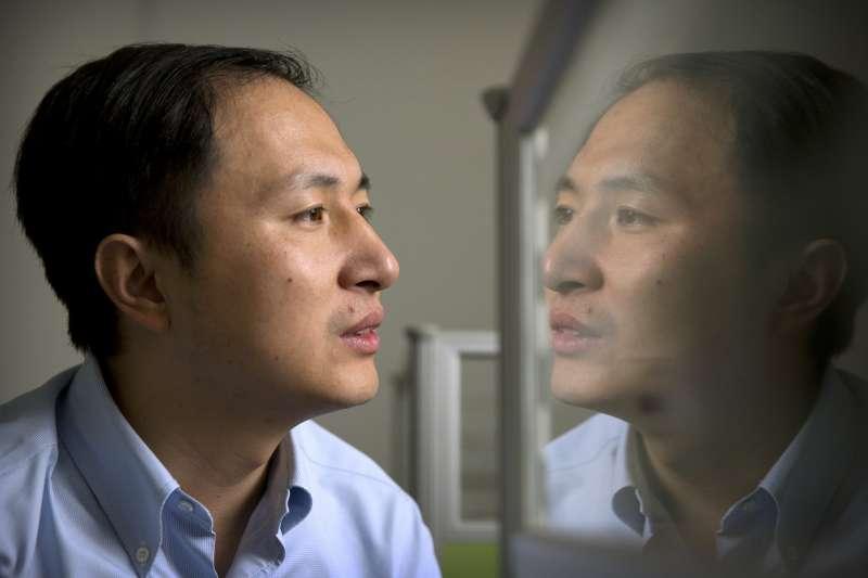 中國科學家賀建奎(美聯社)