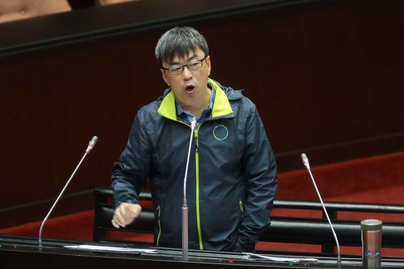 20181127-民進黨立委段宜康27日於立院質詢。(顏麟宇攝)