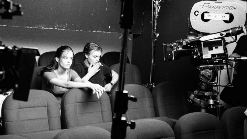 伊娃·格林和邁克爾·皮特在《戲夢巴黎》現場。(圖/BBC中文網)