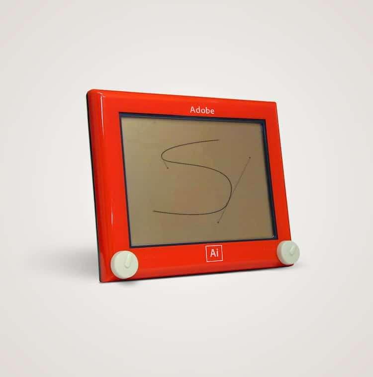 Adobe四十年前可能是家圖畫板公司。(圖/城市美學新態度)