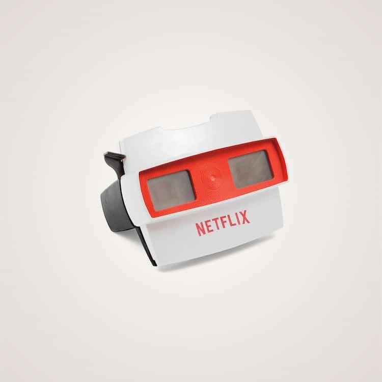 影像帶了就走,這是串流影視平臺Netflix。(圖/城市美學新態度)