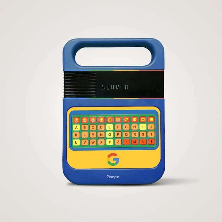Google概念像兒童數位學習器。(圖/城市美學新態度)