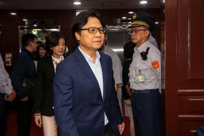 20181128-教育部長葉俊榮28日出席財政委員會。(顏麟宇攝)